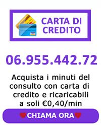 consulto di cartomanzia con carta di credito